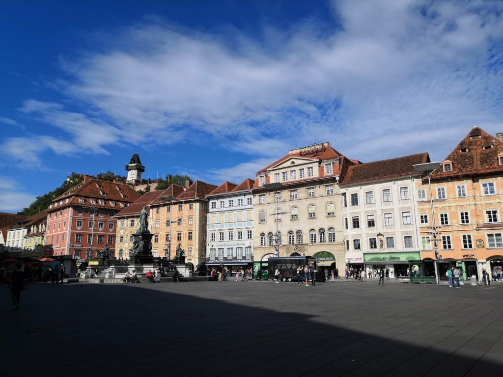 Náměstí v Grazu